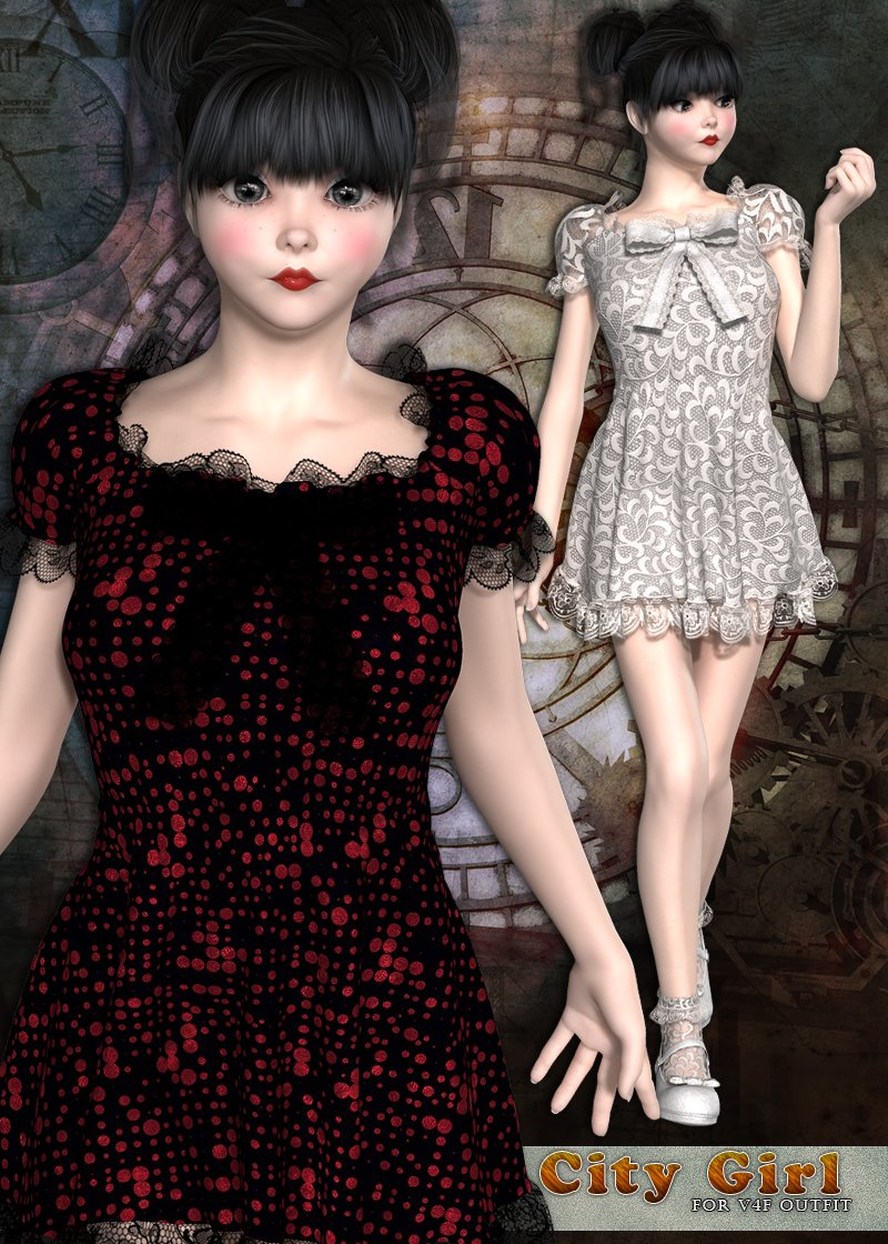 City Girl for V4F outfit by sandra_bonello