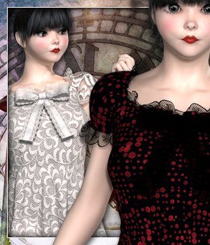 City Girl for V4F outfit 3D Figure Essentials sandra_bonello