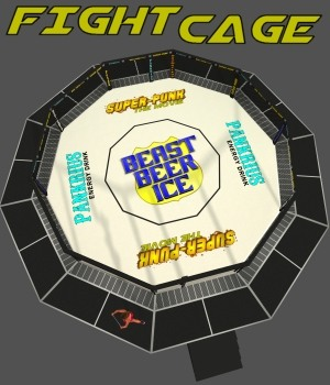 Fight Cage 3D Models DexPac