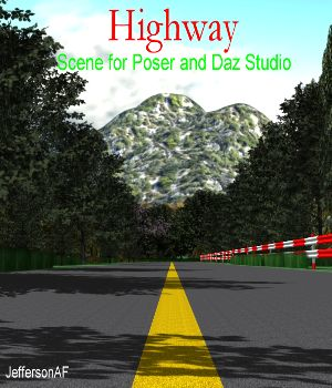 Highway 3D Models JeffersonAF