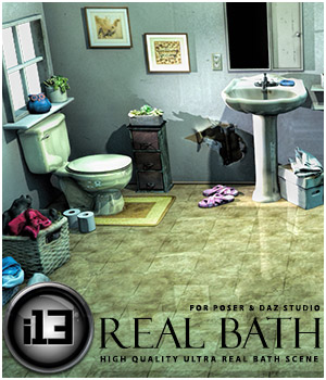 i13 Real Bath Software 3D Models ironman13