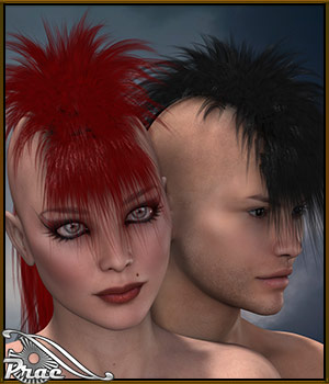 Prae-Ruester Hair 3D Figure Essentials prae