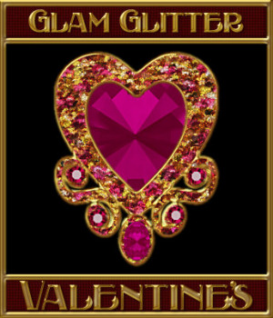 BLING! GLAMOUR GLITTER-Valentine's Layer Styles 2D Graphics Merchant Resources fractalartist01
