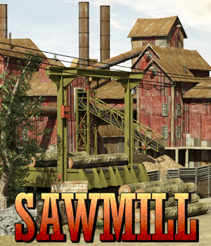 Sawmill 3D Models powerage
