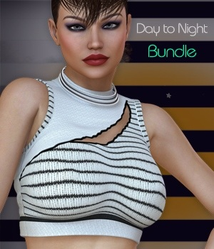Day to Night Bundle - Small Lovely XI 3D Figure Assets nirvy