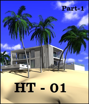 HT - The house 3D Models weld