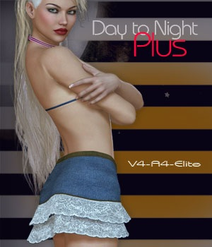 Day to Night Plus V4-A4-Elite 3D Figure Assets nirvy