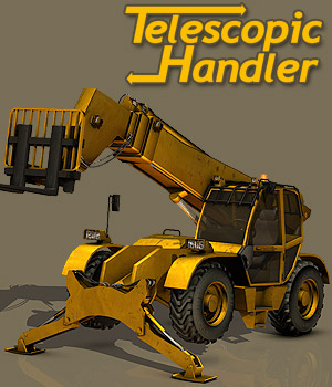 Telescopic Handler 3D Models powerage