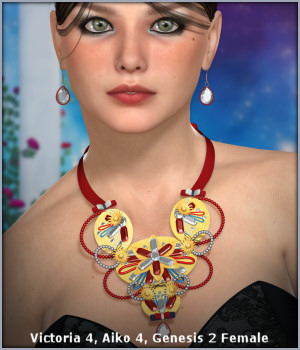 Isabella Jewels 3D Figure Essentials -Wolfie-