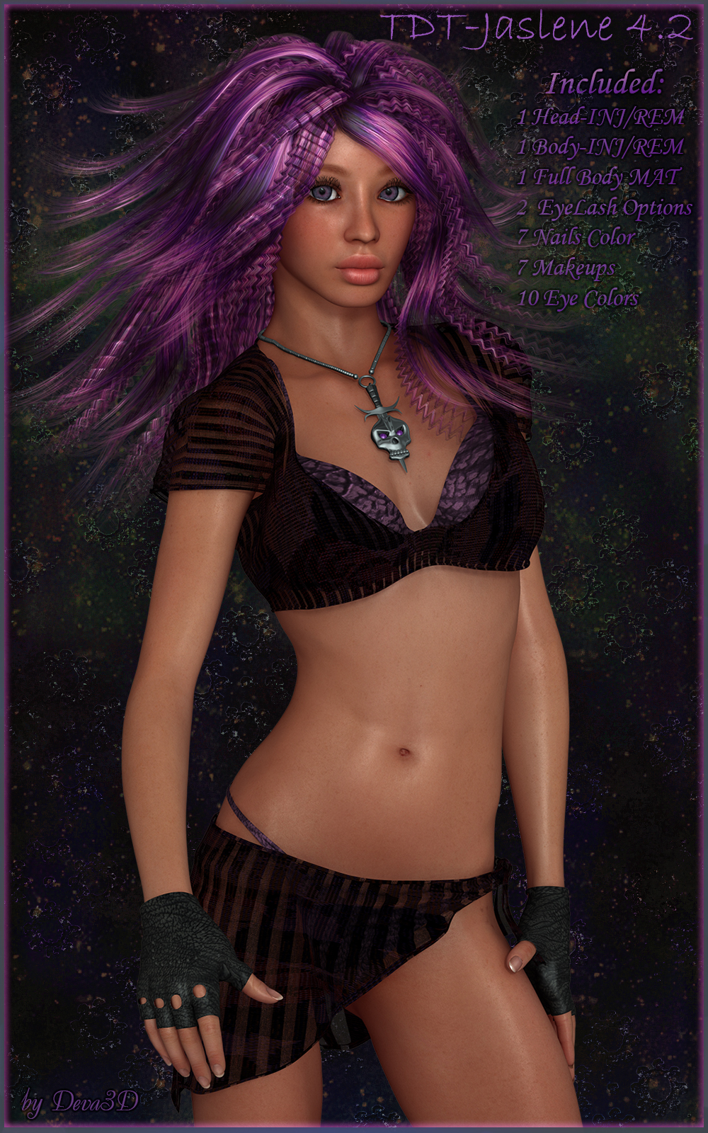 TDT-Jaslene for Victoria 4.2 by Deva3D