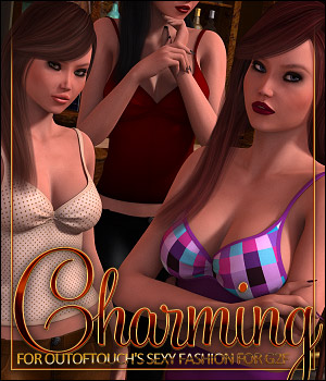 Charming for Sexy Fashion 3D Figure Essentials ShanasSoulmate