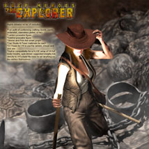 S1M Pulp Heroes: The Explorer for V4 image 1