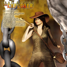 S1M Pulp Heroes: The Explorer for V4 image 2