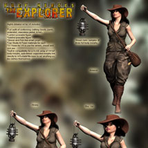 S1M Pulp Heroes: The Explorer for V4 image 5