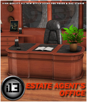 i13 Estate Agent's Office 3D Models Software ironman13