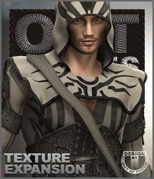 OOT Styles for Midnight Rogue for Genesis 2 Male(s) 3D Figure Essentials outoftouch