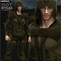 OOT Styles for Midnight Rogue for Genesis 2 Male(s) image 2