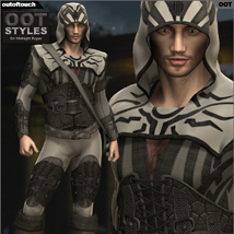 OOT Styles for Midnight Rogue for Genesis 2 Male(s) image 3