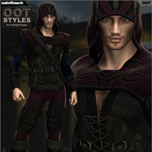 OOT Styles for Midnight Rogue for Genesis 2 Male(s) image 4