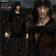 OOT Styles for Midnight Rogue for Genesis 2 Male(s) image 5