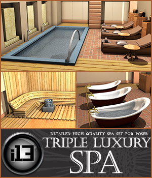 i13 Triple Luxury SPA 3D Models Fugazi1968