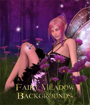 Fairy Meadow Backgrounds 2D Graphics ellearden