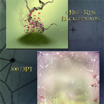 Fairy Meadow Backgrounds image 1