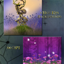 Fairy Meadow Backgrounds image 2
