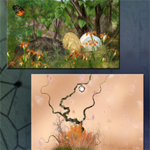 Fairy Meadow Backgrounds image 3