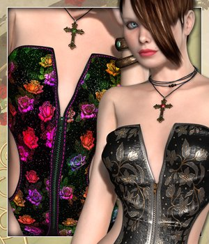Melange for Radiance Corset 3D Figure Essentials sandra_bonello