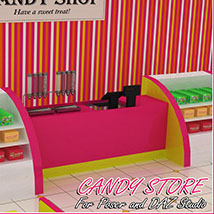 Candy Store Interior image 3