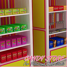 Candy Store Interior image 4
