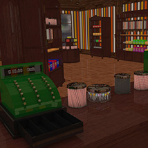 Candy Store Interior image 5