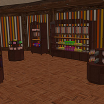 Candy Store Interior image 8