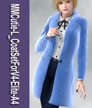 MMCutie-L_CoatSetForV4-Elite-A4 3D Figure Essentials mamota