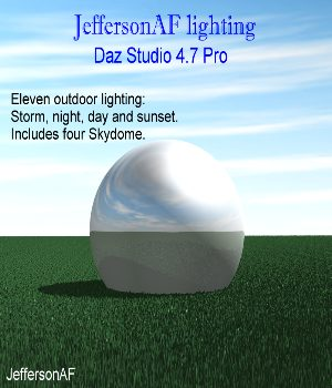 JeffersonAF lighting 3D Models Software JeffersonAF