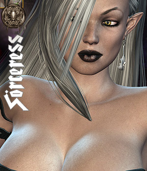 Dark Elven Sorceress by Darkworld