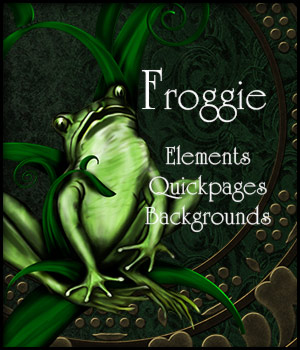 Froggie - Mini Kit 2D Graphics Merchant Resources antje