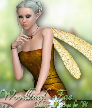 Woodland Fae V4/A4/Elite 3D Models 3D Figure Essentials kaleya