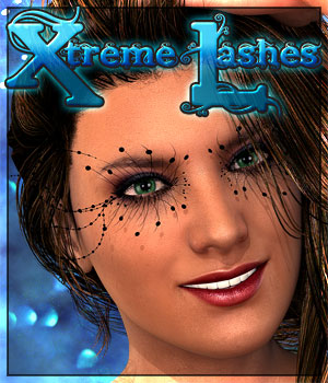Xtreme Lashes for G2Female 3D Figure Essentials Cimerone