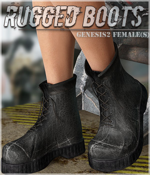 Rugged Boots G2F 3D Figure Essentials lilflame