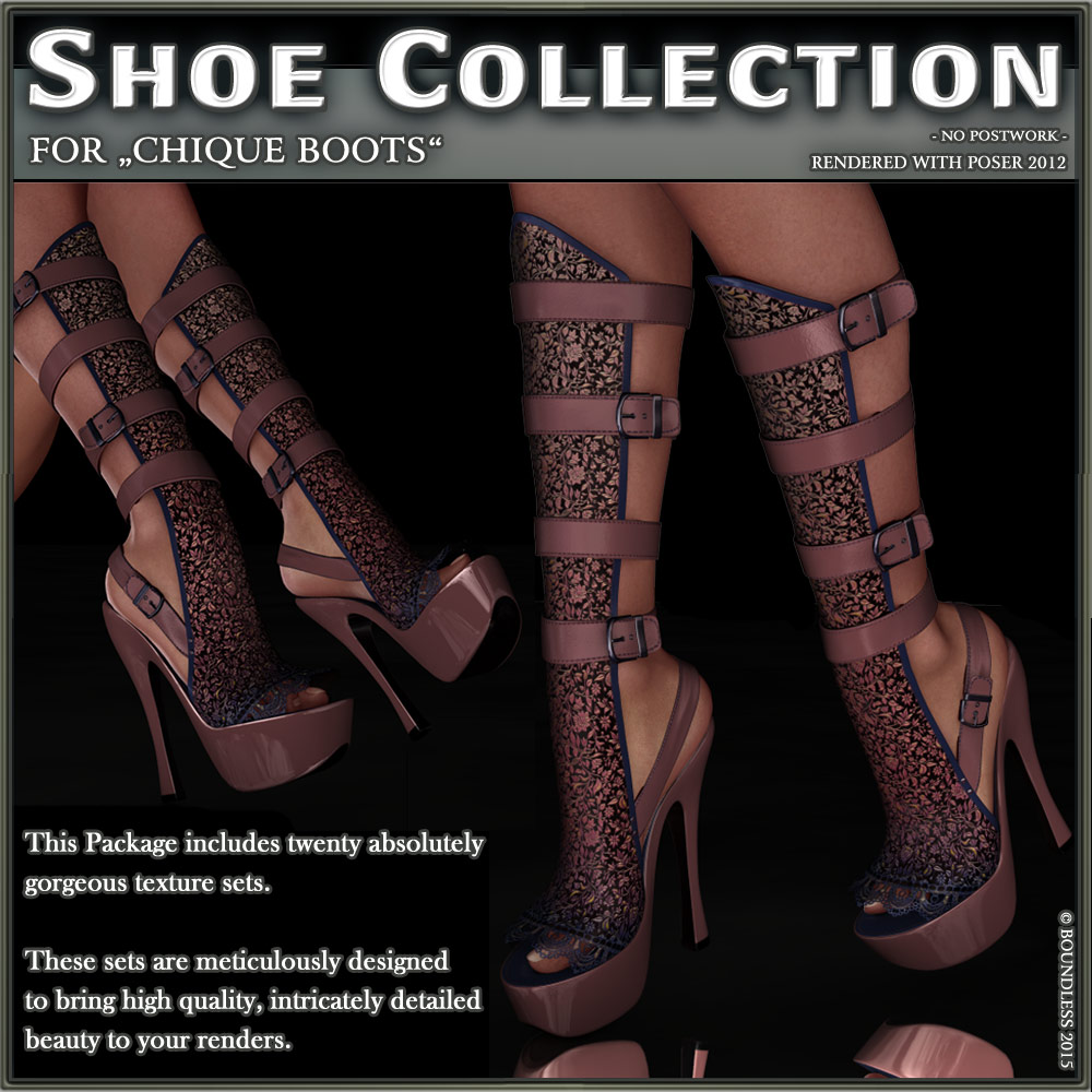 Shoe Collection for Chique Boots by boundless