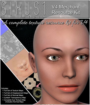 S1M: V4 Merchant Texture Resource Kit & Video Tutorial Merchant Resources Tutorials : Learn 3D sixus1