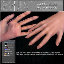 S1M: V4 Merchant Texture Resource Kit & Video Tutorial image 1