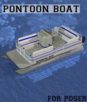 Dex's Pontoon Boat 3D Models DexPac