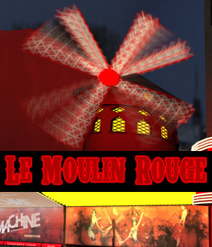 Le Moulin Rouge 3D Models powerage