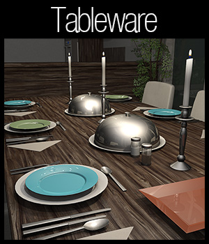 Everyday items, Tableware 3D Models 2nd_World