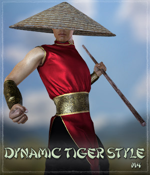 Dynamic Tiger Style M4 M6 3D Figure Essentials Grappo2000