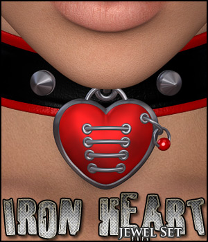 Iron Heart 3D Figure Assets digiPixel