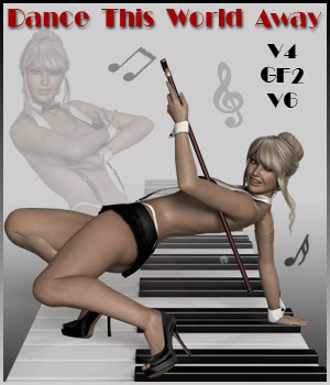 Dance This World Away - V4-GF2-V6 3D Figure Essentials ilona